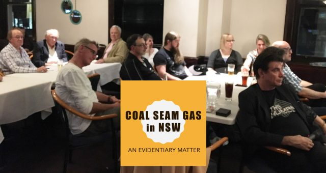 Coal Seam Gas in NSW:  A skeptical assessment of who is really dodging the science?