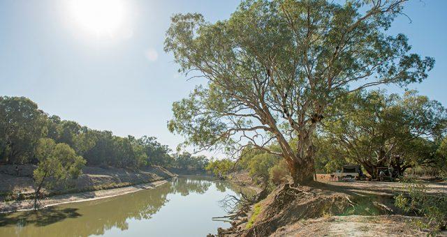 Wilcannia community to blockade bridge and save the Darling (Barka) River demanding water trading end in Australia