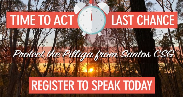 The time has come to act for the Pilliga