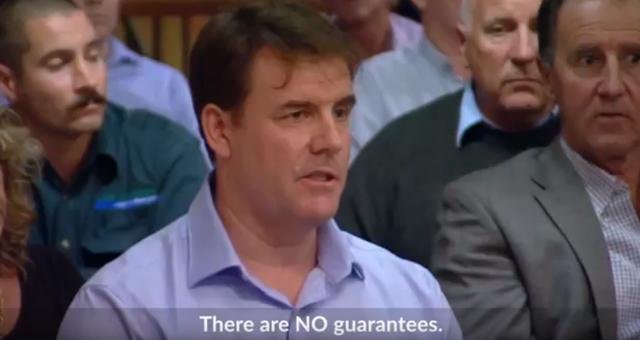 """There are NO guarantees"" says Santos"
