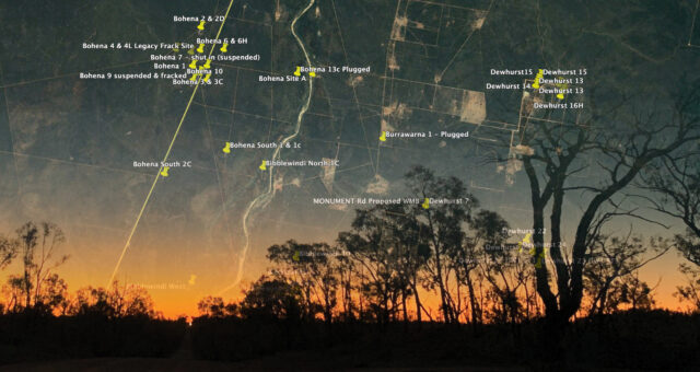 GasWatch resource booklet for groups and individuals visiting the Pilliga forest